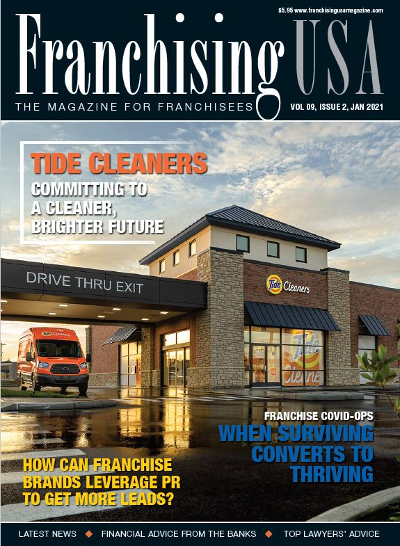 Tide Cleaners cover Franchising USA
