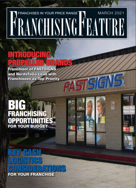 Franchising USA feature cover Mar 2021
