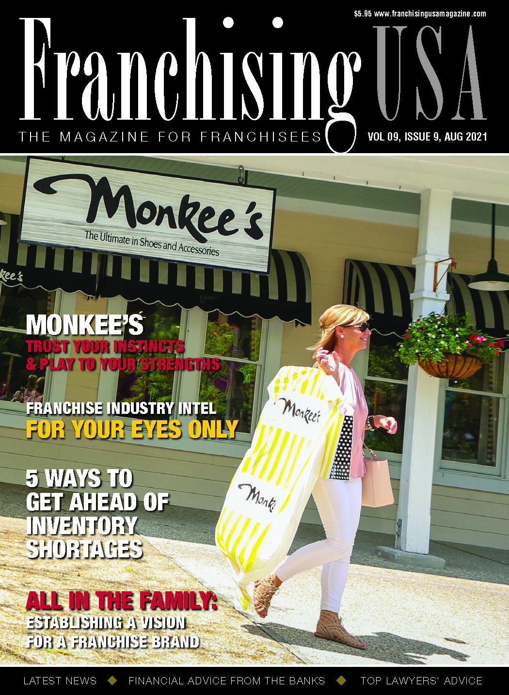 Franchising USA Cover May 2021