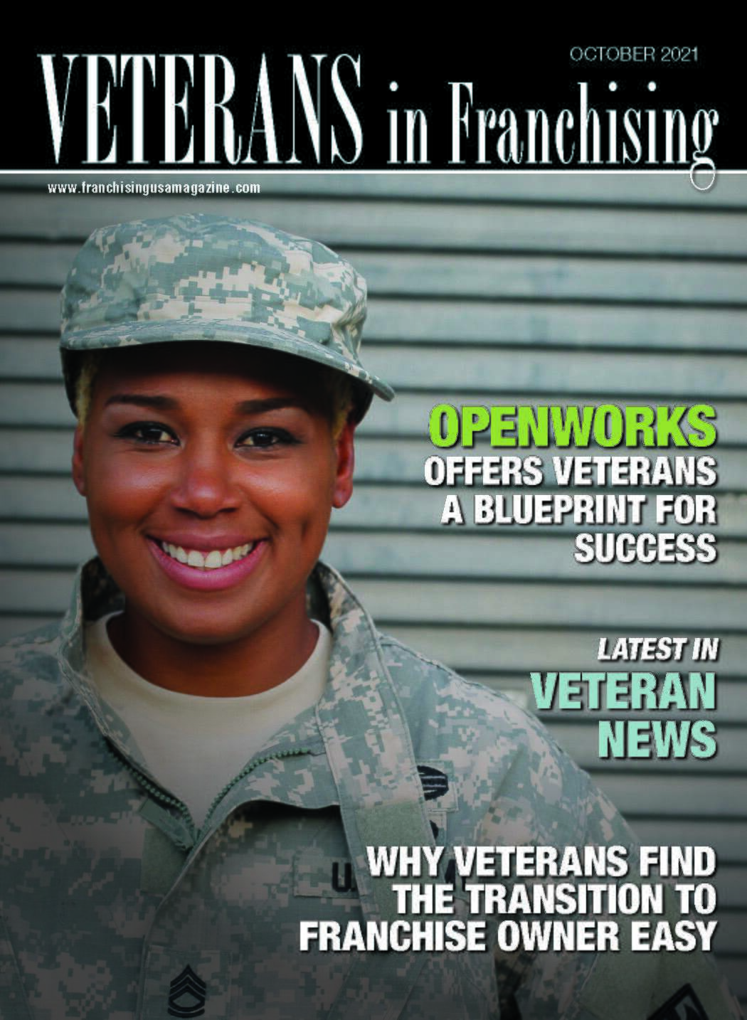 Vets Cover Oct 2021